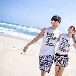 Quần cặp style Korea
