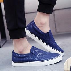 Giày lười vải trẻ trung-GL12