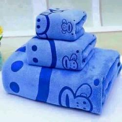 Sét khăn mặt và khăn tắm