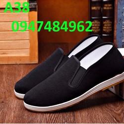 Giày lười nam phong cách thể thao - A38