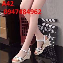 Giày đế xuồng nữ rẻ đẹp A42