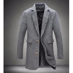 áo khoác măng tô blazer Mã: NK0831 - XÁM