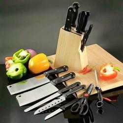 Bộ dao 7 món kèm giá đế  dao