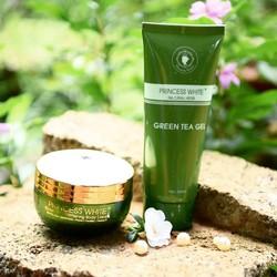 Kem dưỡng trắng da toàn thân đêm – GREEN TEA Whitening Body Cream.
