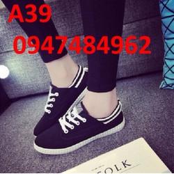 Giày lười nữ cá tính thể thao A39
