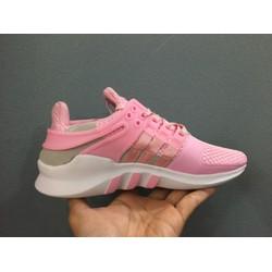 Giày thể thao nữ EQT hồng cá tính gym training chạy bộ
