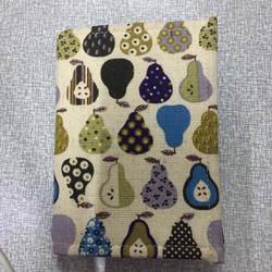 VINA03- Ví name card handmade ruột rời họa tiết quả lê
