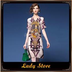 Đầm  nữ LADY STORE sang trọng đẳng cấp LD103