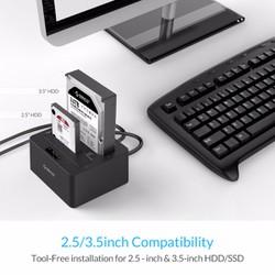 Hộp đựng ổ cứng HDD DOCK 2 BAY ORICO 6629US3-C CLONE