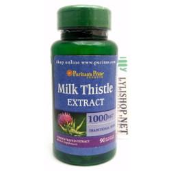 Bổ gan Milk Thistle 1000mg 90 viên hãng Puritans Pride giải độc gan