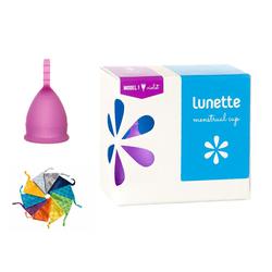 [HÀNG CHÍNH HÃNG] Cốc nguyệt san Lunette màu tím cỡ 1