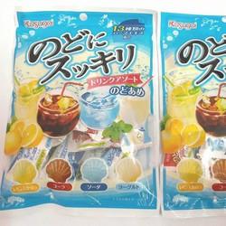 Kẹo cứng cam, bạc hà - Kasugai - Nhật