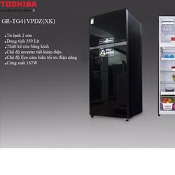 Tủ lạnh Toshiba TG41VPDZ-XK1,359 lít, inverter- Freeship nội thành HCM