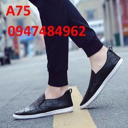 Giày lười nam hàn quôc đẹp A75