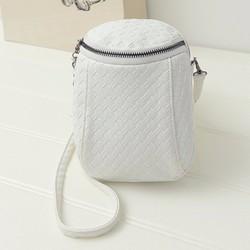 Túi đeo chéo mini dạng hộp vân nổi  PB11010559