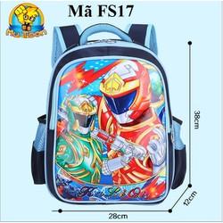 Ba lô đi học siêu nhân cho bé FS17