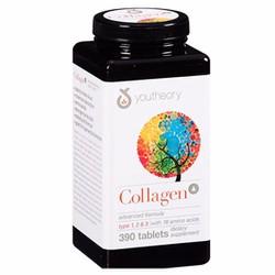 Viên uống đẹp da Youtheory Collagen Advanced Formula 390 viên