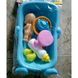 đồ chơi thau tắm cho bé