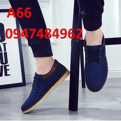 Giày lười mọi nam phong cách Hàn Quốc A66