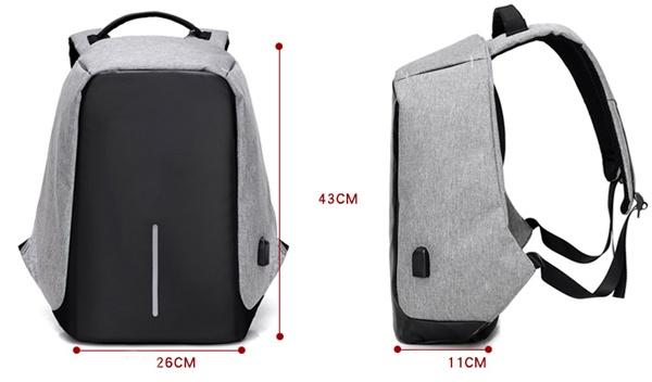 Balo laptop chống trộm DXYZ 1701 5