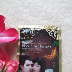 Gói Dầu Gội Đen Tóc Black Hair Shampoo của Hàn Quốc