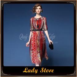 Đầm nữ LADY STORE sang trọng đẳng cấp LD106