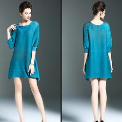 Đầm suông cách điệu quyến rũ NS107