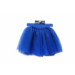 Váy xòe trẻ em màu xanh