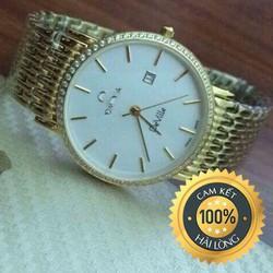 Đồng hồ nam cao cấp OMDiamiond trắng lịch lãm sang trọng