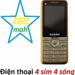 Điện thoại 4 sim 4 sóng online Gama F1