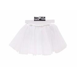 Váy xòe trẻ em màu trắng