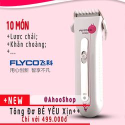TÔNG ĐƠ Cắt Tóc cho Bé FLYCO 5802 Đặc biệt An Toàn Êm Ái