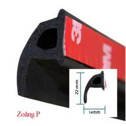 Zoăng cao su P chống ồn