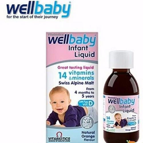 Wellbaby infan Cung cấp 14 loại vitamin và khoáng chất