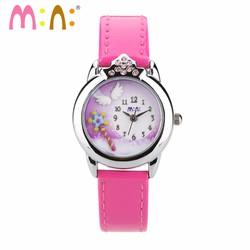 Đồng hồ Bé gái Mini Hàn Quốc MI054 Hồng
