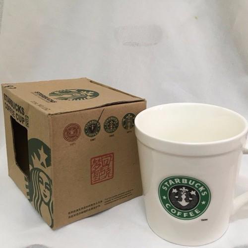 ly sứ Starbuck trắng có quai M13-2