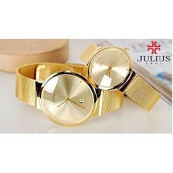 Đồng hồ cặp Hàn Quốc Julius JU1052 JA-426 siêu mỏng