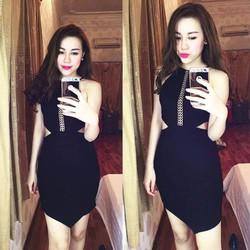 Đầm Body Yếm Khoét Eo Gợi Cảm