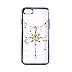 Ốp lưng Tuxedo iPhone 7 Crystal đính đá Ngôi sao đen