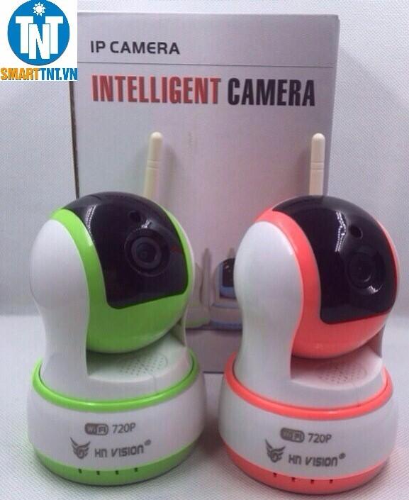 Camera wifi HN VISION 720P trang trí hình ROBOT 2