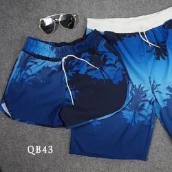 Quần short nam nữ đôi đi biển