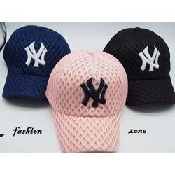 nón kết lưỡi nón lưỡi trai nón thể thao nón che nắng hình lướichữ NY