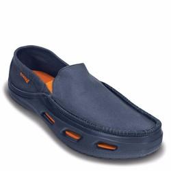 Giày vải Crocs tideline canvas cho nam màu xanh navy