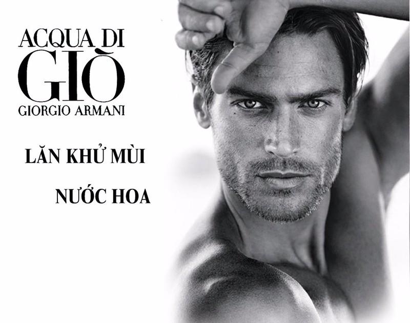 Lăn khử mùi nước hoa Acqua di Giò Giorgio Armani cho nam 3