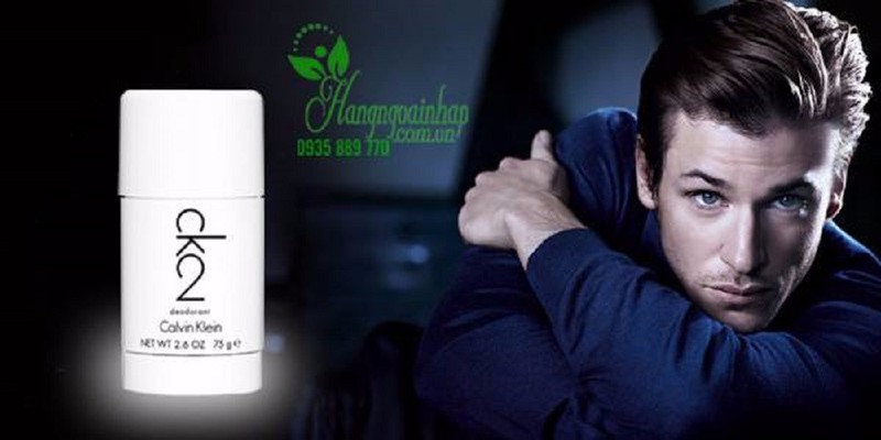 Lăn khử mùi nước hoa nam Calvin Klein CK2 Deodorant 3