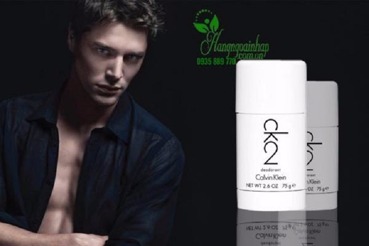 Lăn khử mùi nước hoa nam Calvin Klein CK2 Deodorant 2
