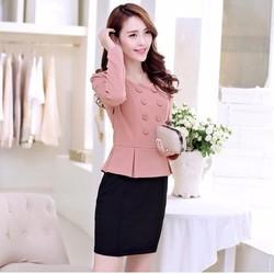 Đầm váy công sở cực đẹp DS063