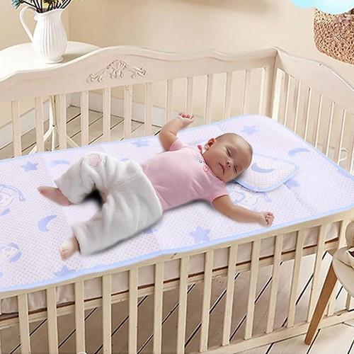 Chiếu lụa trải giường cho bé cao cấp NX6705