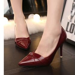 FC01DO- Giày cao gót mũi nhọn sang trọng