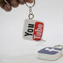 Móc khóa Handmade Logo Mạng xã hội